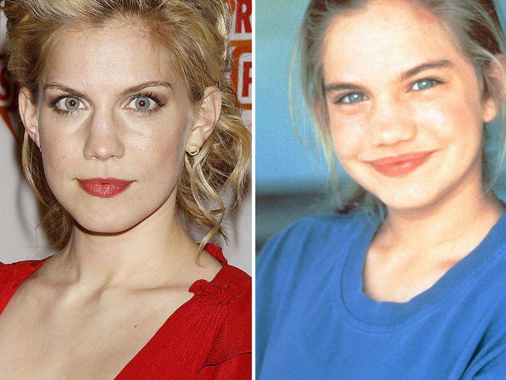 Anna Chlumsky erwachsen und jung