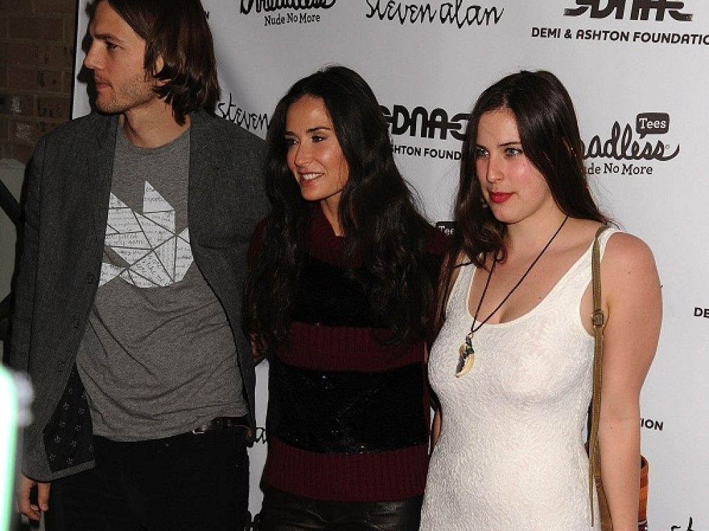Ashton, Demi und Scout