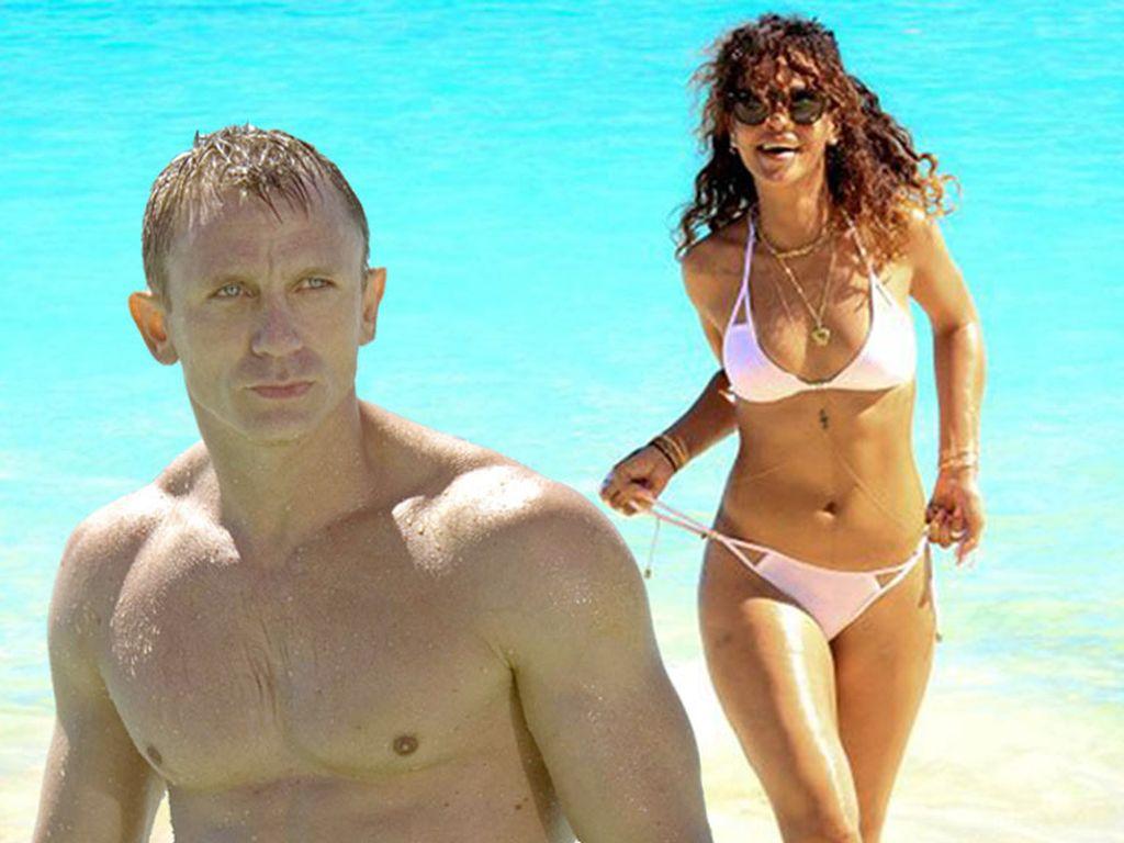 Rihanna und Daniel Craig