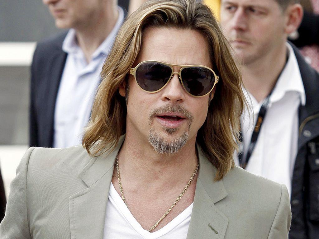 Brad Pitt mit Sonnenbrille in Cannes