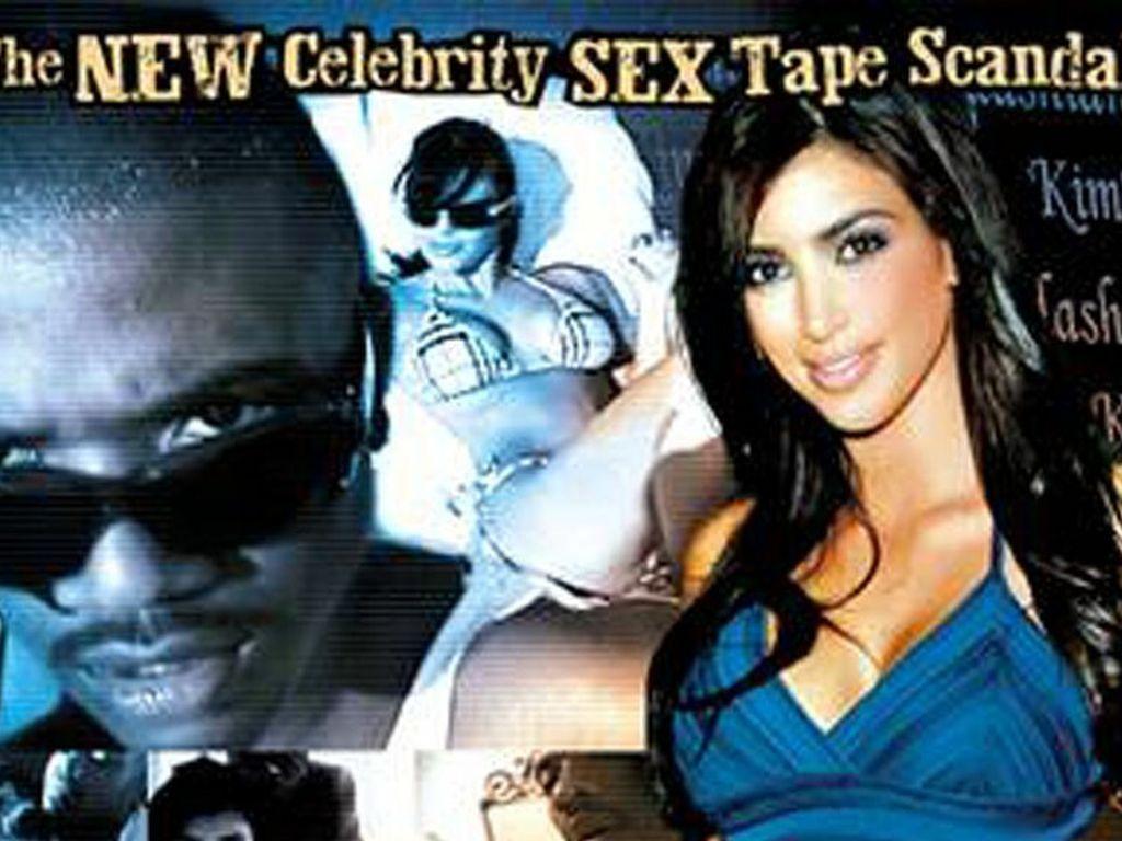 Das Cover von Kim Kardashians Sextape