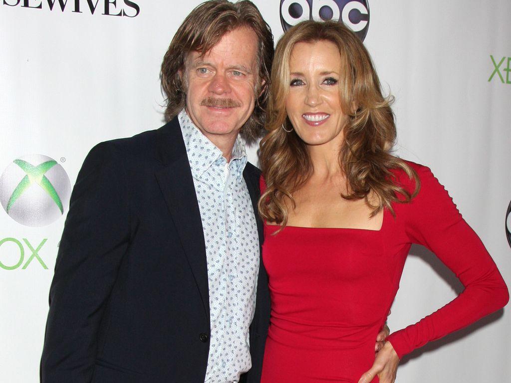 Felicity Huffman und ihr Mann zusammen auf dem roten Teppich