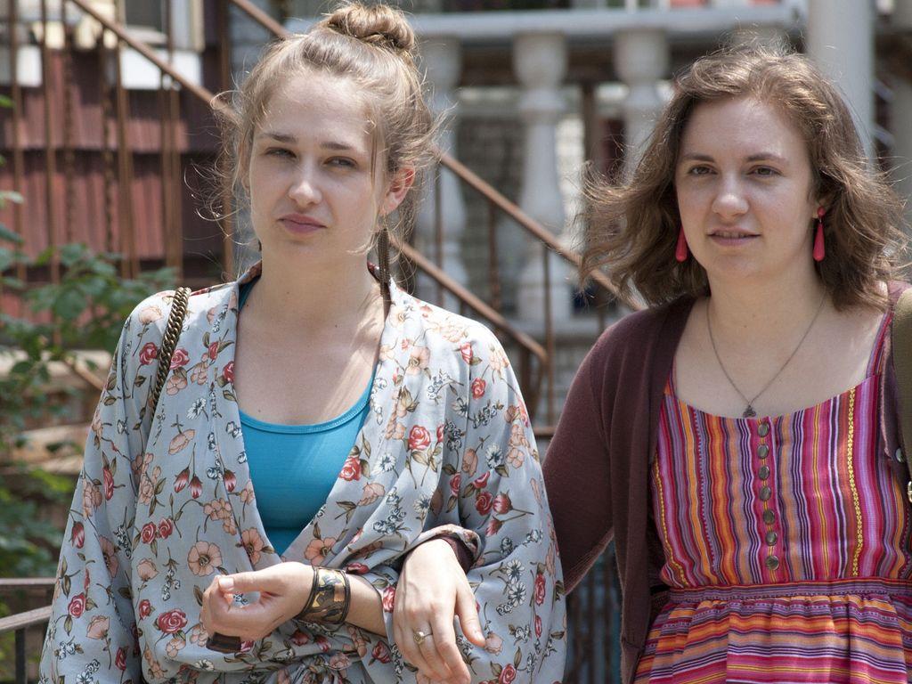 Jemima Kirke und Lena Dunham in Girls