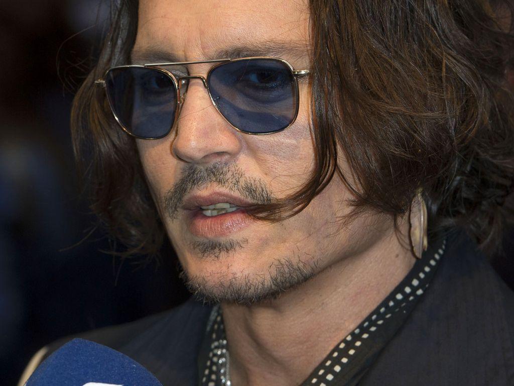 Johnny Depp spricht