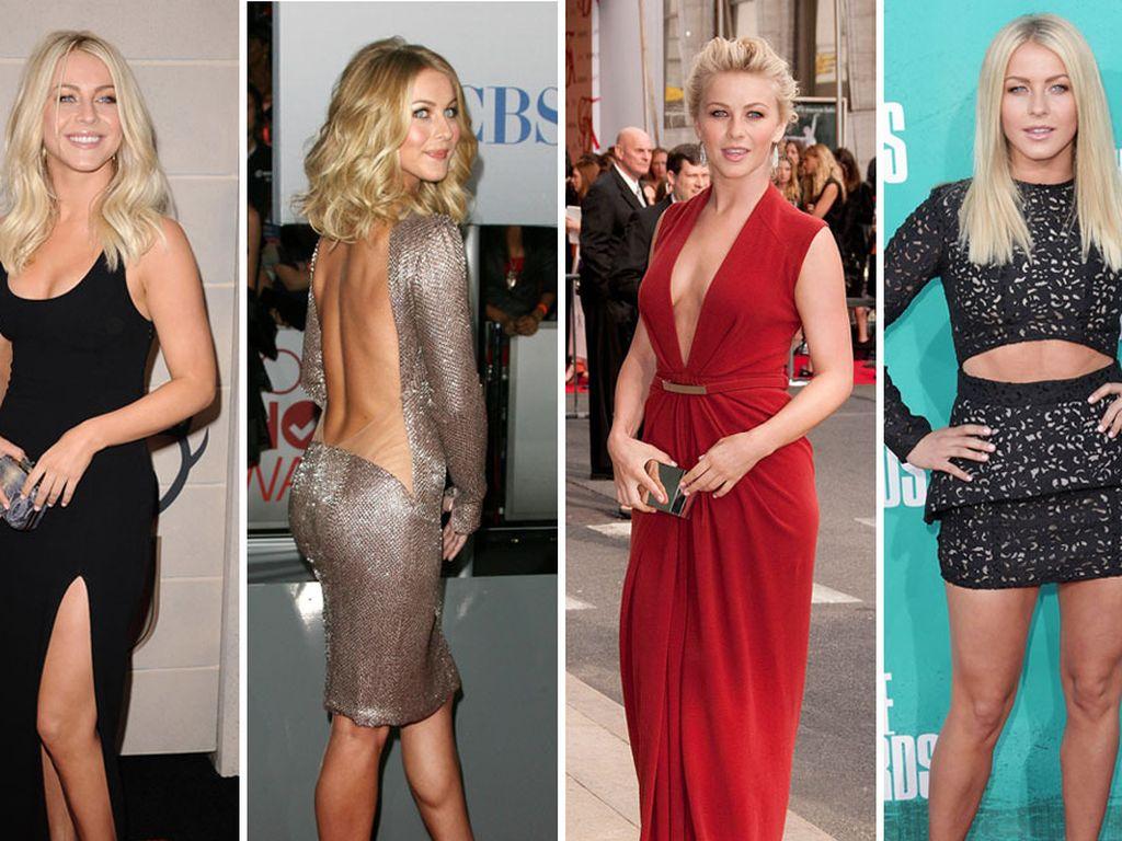 Julianne Hough mit verschiedenen Outfits