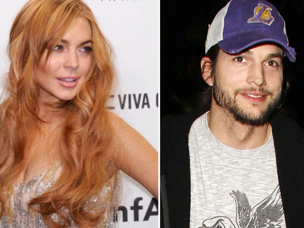 Lindsay Lohan und Ashton Kutcher