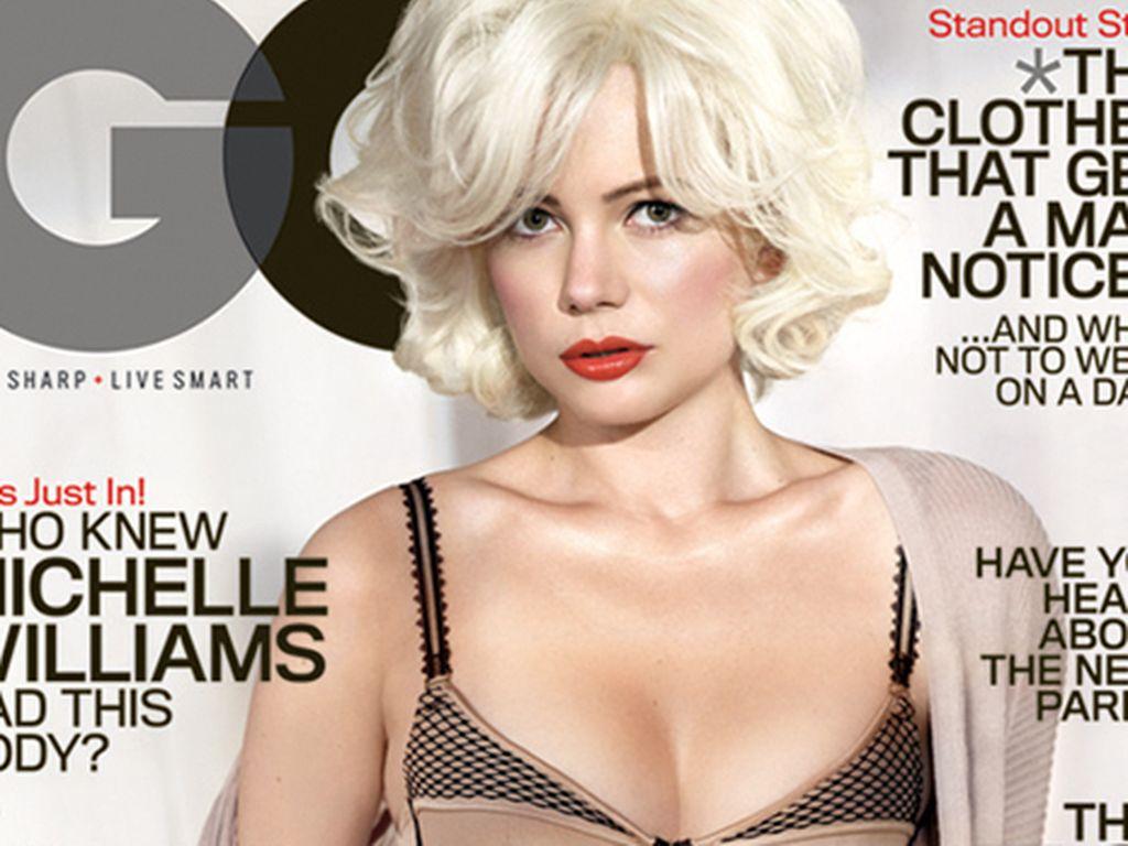Michelle Williams auf dem GQ-Cover