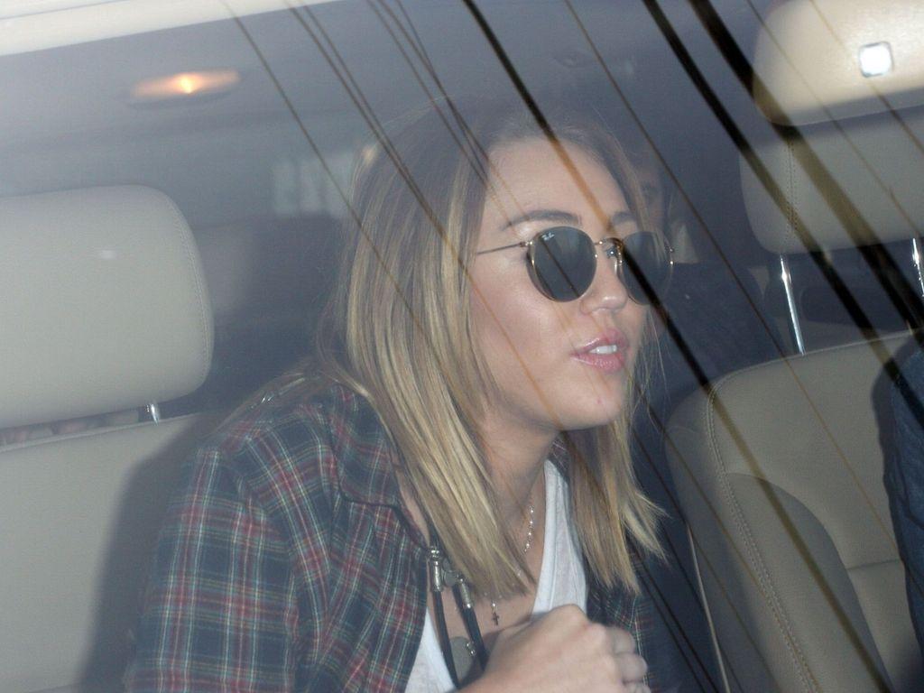 Miley Cyrus mit Long-Bob