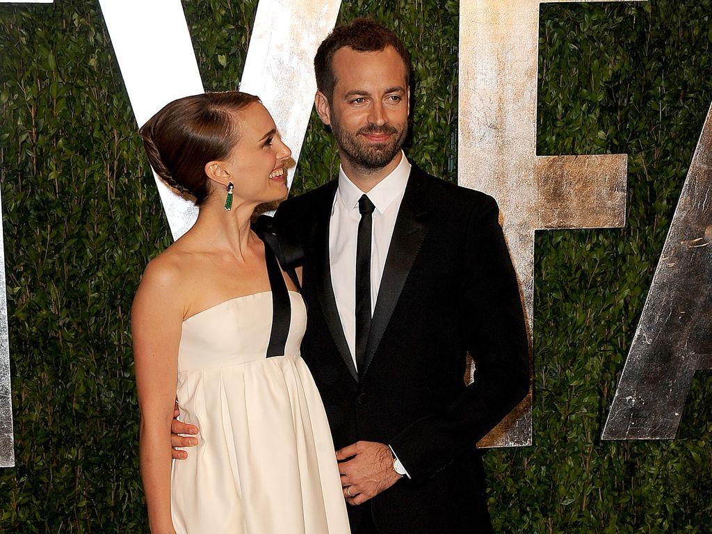 Natalie Portman und ihr Mann bei der Vanity Fair Oscar-Party