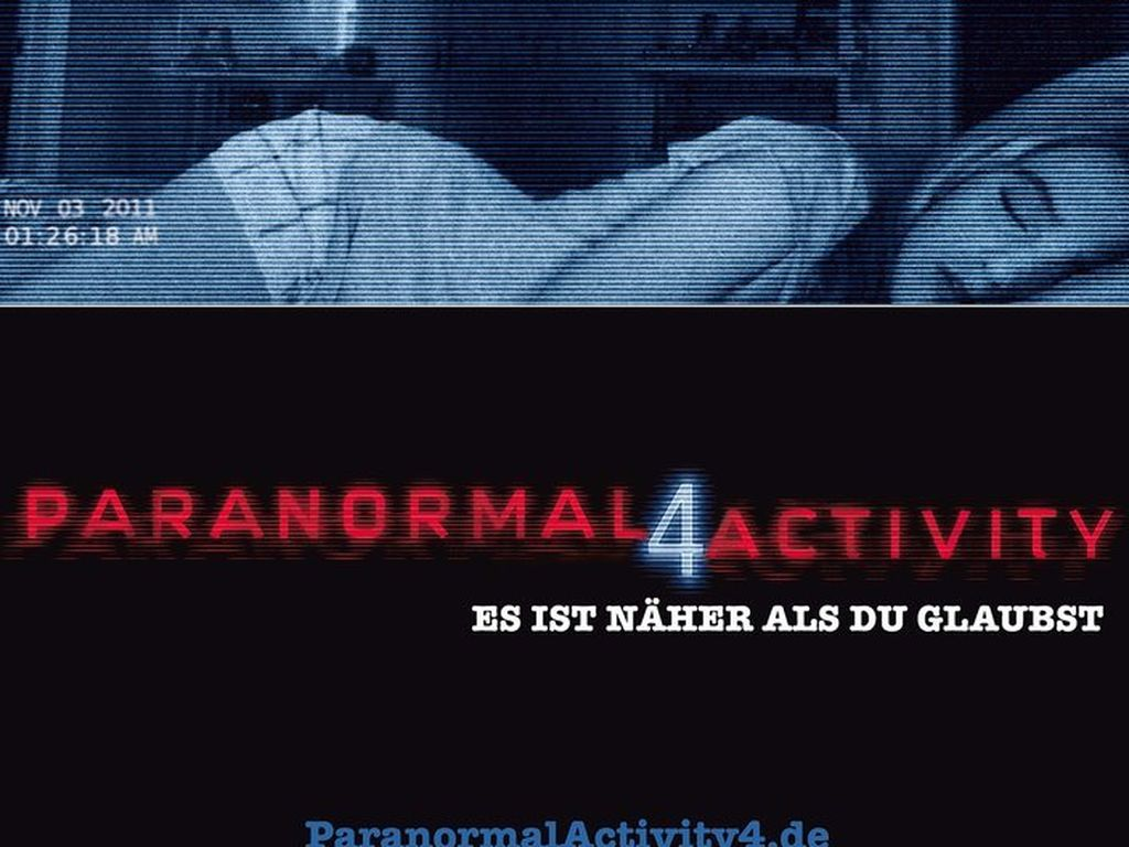 Paranormal Activity 4 Filmplakat