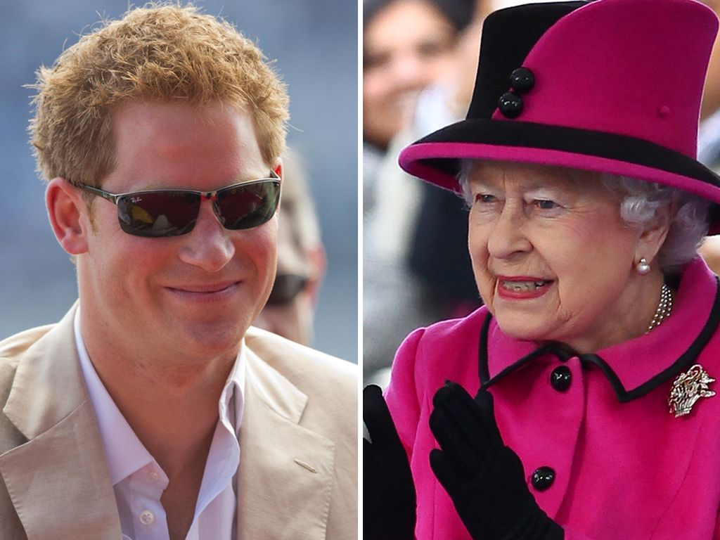Prinz Harry und seine Oma, die Queen
