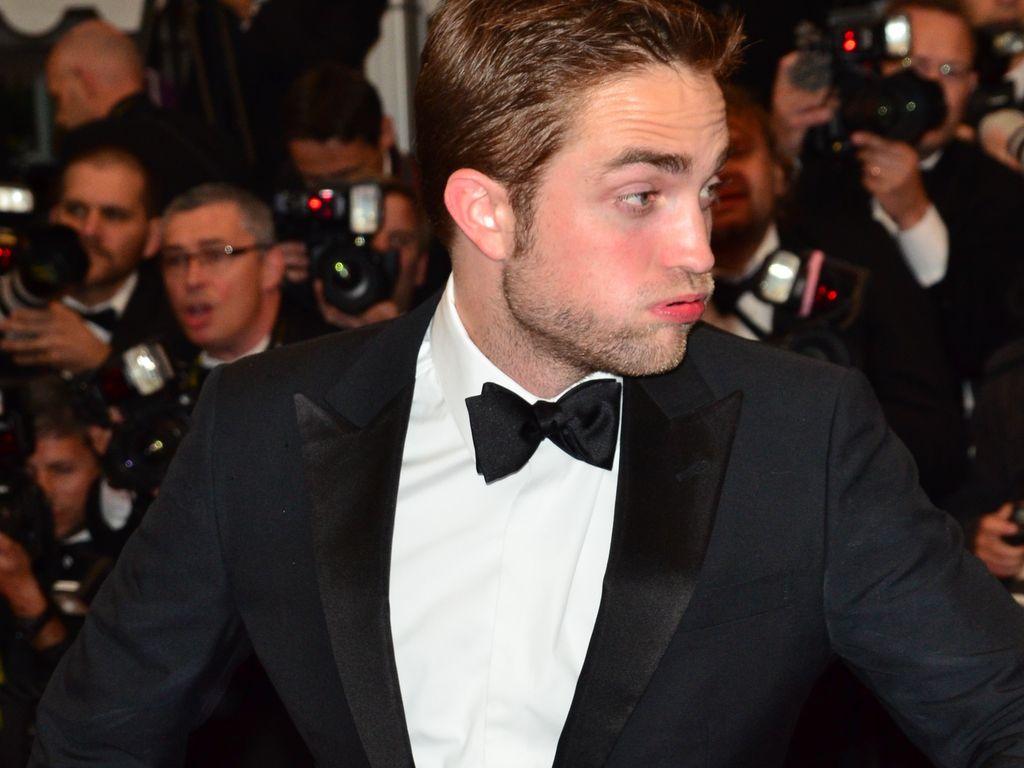 Robert Pattinson schnauft