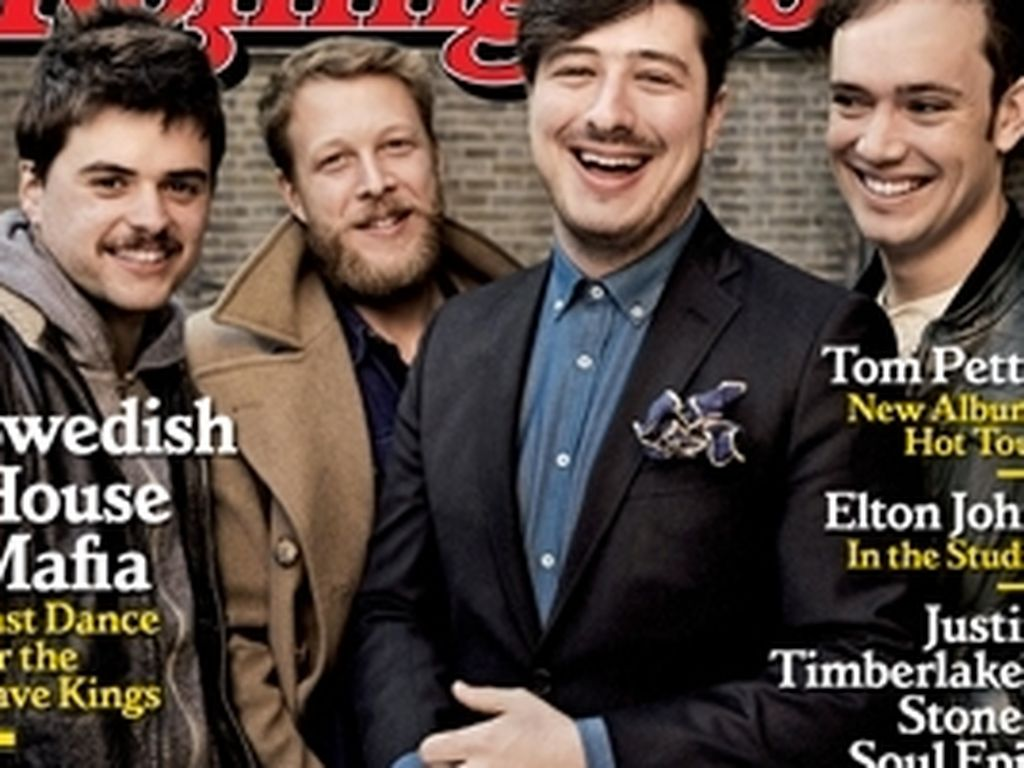 Rolling Stones Cover mit Mumford and Sons
