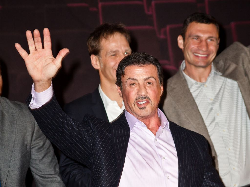 Sylvester Stallone stellt Rocky-Musical in Hamburg vor