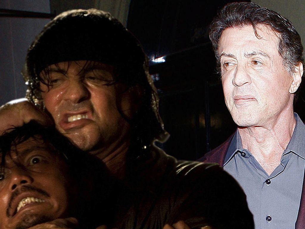 Sylvester Stallone und Rambo
