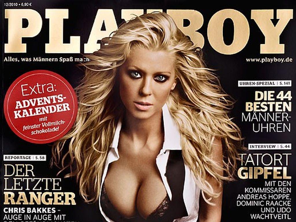 Tara Reid auf dem deutschen Playboy