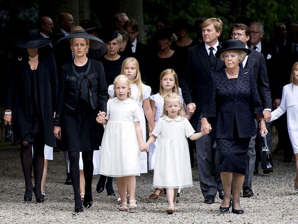 Trauerfeier für Prinz Friso