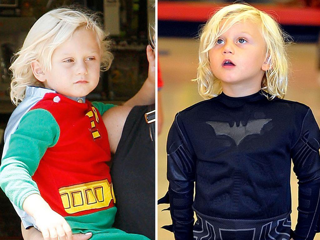 Zuma Rossdale in Superheld-Kostümen