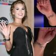 Ihre Handgelenk-Tattoos haben für sie eine sehr persönliche Bedeutung