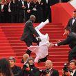 Das Beweisfoto zeigt allerdings einen anderen Mann, der 2011 beim Cannes Filmfestival gefallen war