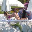 Sexy! Elisabetta Canalis sonnt sich in Cannes