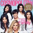 Die Kardashian-Jenner-Frauen zieren anlässlich des 50. Jubiläums von Cosmopolitan das Magazin-Cover