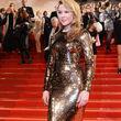 Kylie Minogue erstrahlte in Gold