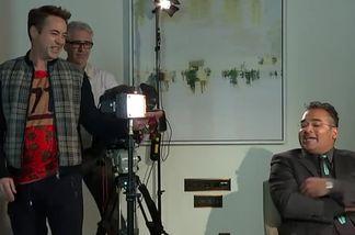 """Robert Downey Jr. brach ein """"The Avenger""""-Interview ab"""