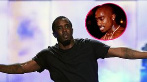 2Pac und P. Diddy in einer Collage