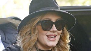 Adele vor dem Greenwhich Hotel