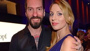 Alec Völkel mit seiner Johanna