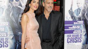 Amal und George auf einer Filmpremiere