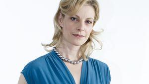 Anne Apitzsch guckt ernst