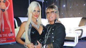 Bert Wollersheim hat Sophia im Arm