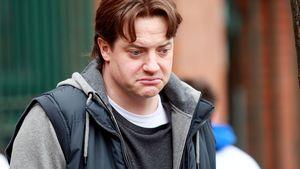 Brendan Fraser guckt ganz traurig