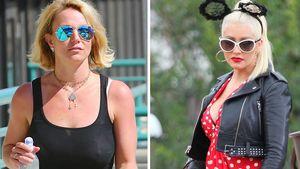 Britney Spears und Christina Aguilera stehen sich gegenüber