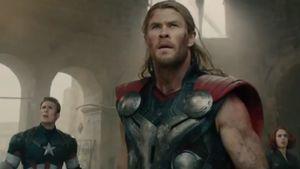 Captain America, Thor und Black Widow