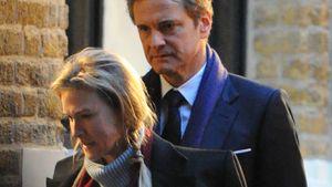 Colin Firth und Renee Zellweger bei den Dreharbeiten