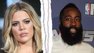 Collage: Trennung von Khloe Kardashian und James Harden