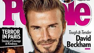 David Beckham Sexiest Man Alive Cover