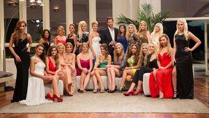 Der Bachelor und die Damen am ersten Abend