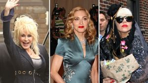 Dolly Parton, Madonna und Lady GaGa