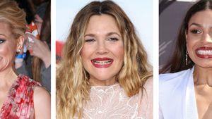 Elizabeth Banks, Drew Barrymore und Jordin Sparks grinsen schräg