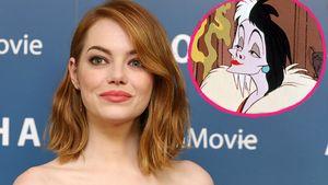 Emma Stone und Cruella de Vil