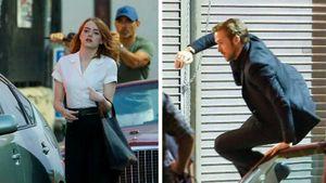 """Emma Stone und Ryan Gosling drehen Szenen für """"La La Land"""""""