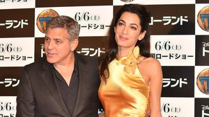 George Clooney präsentiert seine schöne Amal