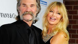 Goldie Hawn umarmt Kurt Russell