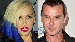 Gwen Stefani ist geschockt und Gavin Rossdale in einer Collage