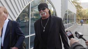 Hulk Hogan vor dem Gericht in St. Petersburg Florida