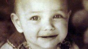 Irina Shayk als Baby